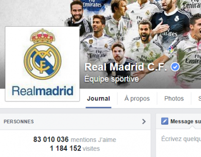 j'aime des top pages N°11 (2) REAL MADRID