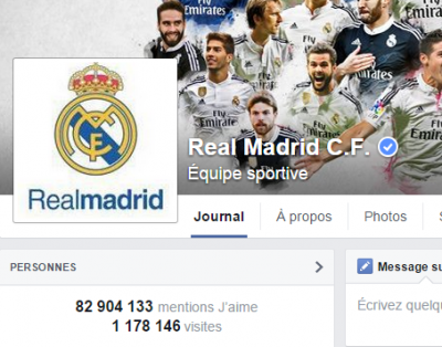 j'aime des top pages N°11 REAL MADRID
