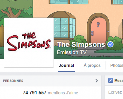 j'aime des top pages N°20 - THE SIMPSONS