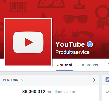 j'aime des top pages N°9 (2) YOUTUBE