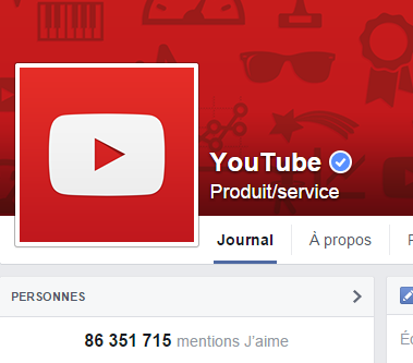 j'aime des top pages N°9 (3) YOUTUBE