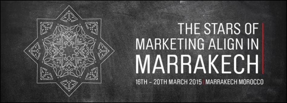 The Global Marketer Week: Pour la première fois au Maroc et en Afrique.