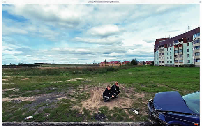 Top 20 images bizarres sur Google Street View