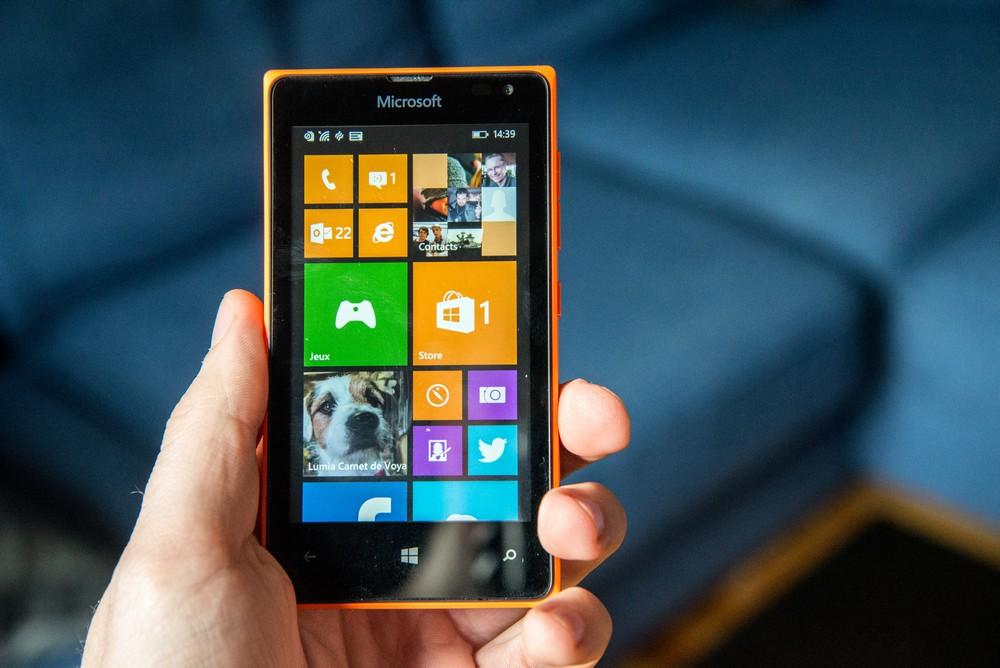 Lumia 435 – Smartphone de Microsoft est de moins 70 Euros