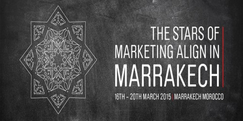 Le / The Global Marketer Week  Pour la première fois au Maroc et en Afrique.