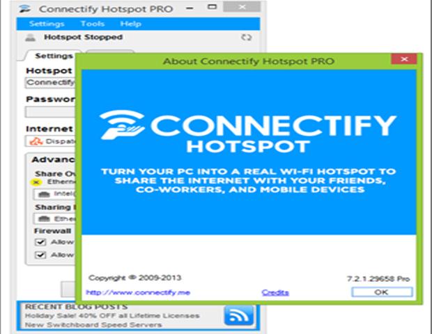 Guide d'utilisation de Connectify : Transformer votre PC en un Routeur WIFI