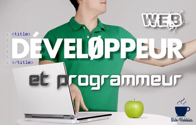 Programmeur et développeur des métiers de grande importance