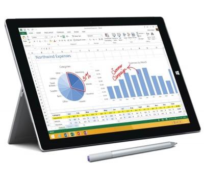Tablette Microsoft Surface Pro 3 : TOP 10 tablettes : Les meilleures tablettes 10 pouces en 2015