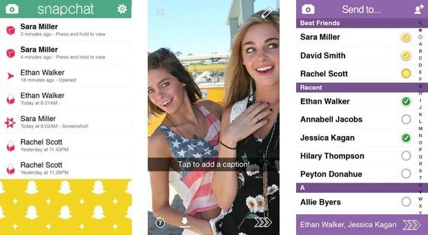 Snapchat, l'application qui fait tant fureur !