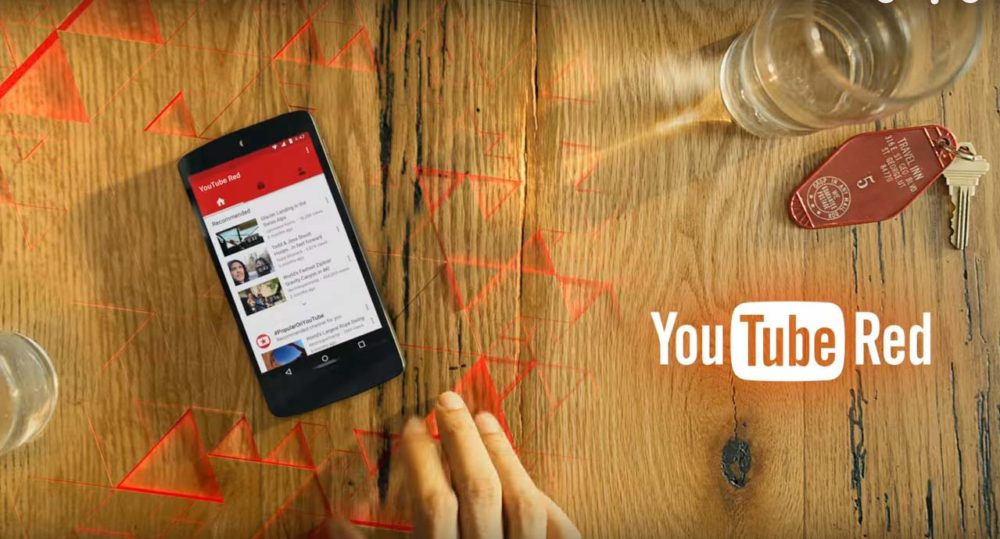 YouTube Red : YouTube sans pubs, mode offline et exclusivité