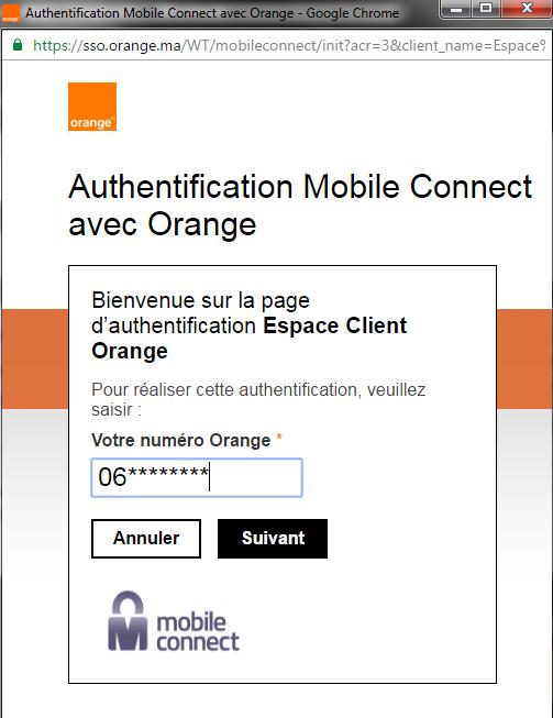 orange-authentification