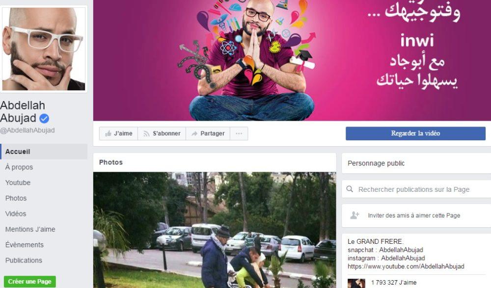 Page Officielle Abdellah Abujad