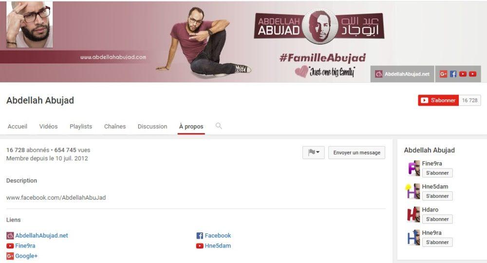 Chaîne Officielle de Abdellah Abujad